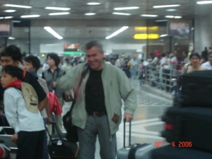 1 sosirea mea in aeroportul New Delhi