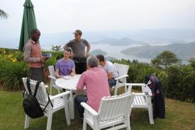 _29 primul pranz la Bunyonyi Lake